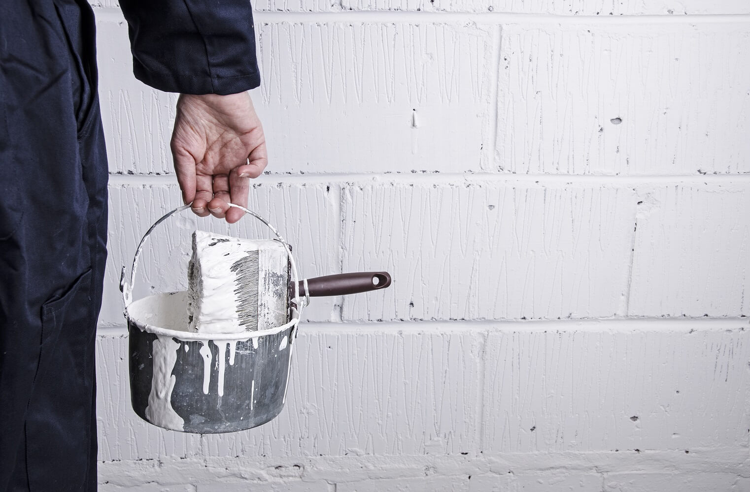 how to clean dried latex paint brushes